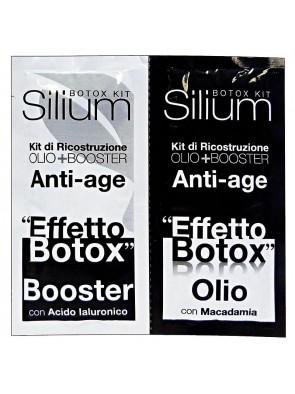 Silium Kit Maschera Capelli Ricostruzione Profonda Anti Age
