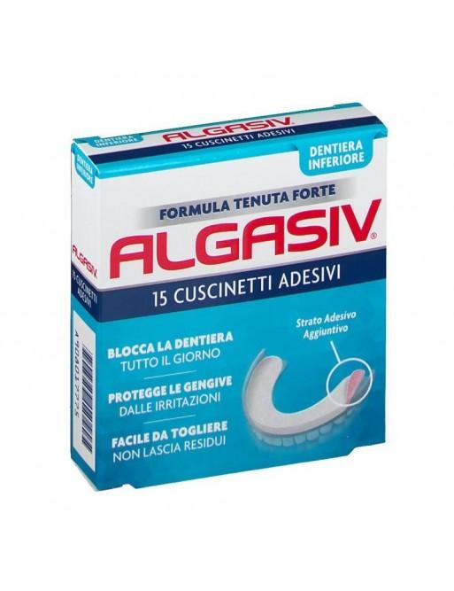 Algasiv Adesivo Protesi Inferiore 15pz