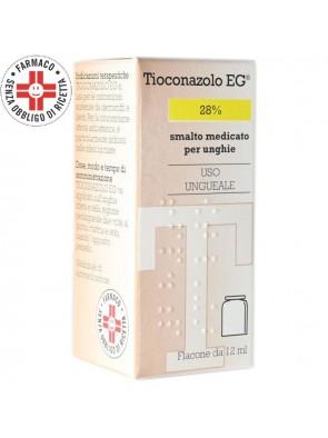 Tioconazolo EG Smalto Medicato (Equivalente Trosyd) 12ml