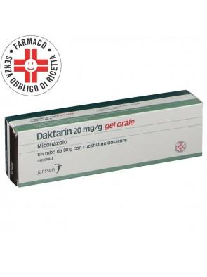Daktarin Gel Orale Miconazolo 20mg/g 80gr