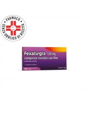 Fexallegra Antistaminico 120mg 10 Compresse