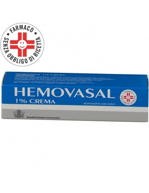 Hemovasal Crema 1%  30gr