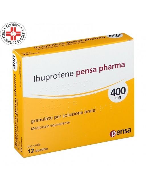Ibuprofene Pensa 400mg 12 Bustine (Equivalente Moment)