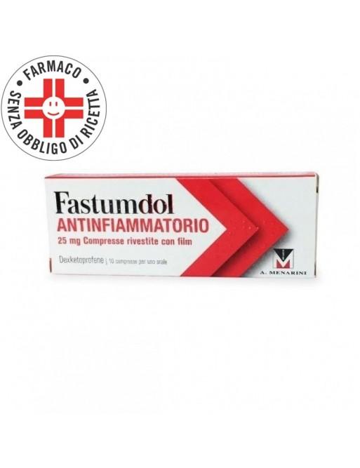 Fastumdol Antinfiammatorio 25mg 10 Compresse