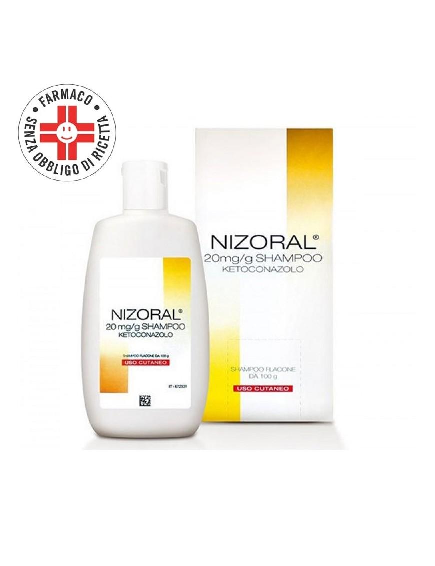 Nizoral Shampoo Infezioni Cuoio Capelluto 20mg/gr