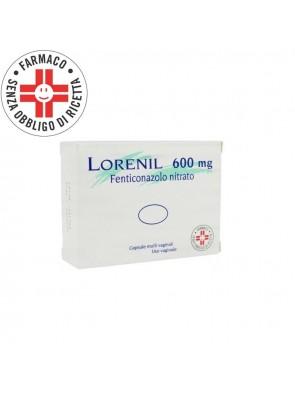 Lorenil 600mg Fenticonazolo 1 Capsula Molle Vaginale