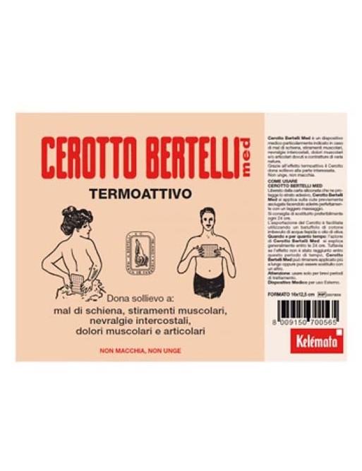 Cerotto Bertelli Med Termoattivo Medio 16X12 cm