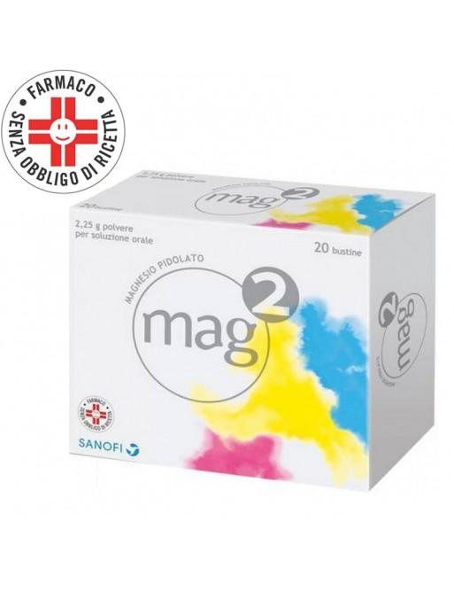 Mag 2 Magnesio Pidolato 20 Bustine