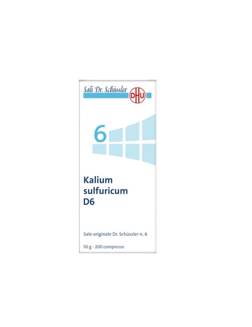 Kalium sulfuricum D6 Sale Dr. Schüssler N.6